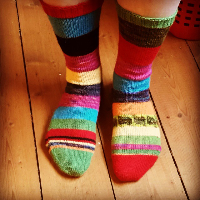 Adventskalender Socken #socks #knitstagram #knitstagram http://www.stricktick.de Hat Spa? gemacht!