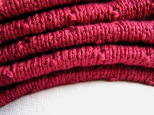 rote Strickteile