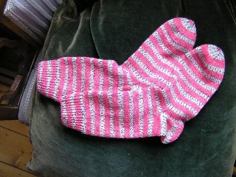 Opal Abo Mai Socken gestreift
