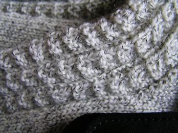 Ausschnitt aus dem Fluted Bannister Muster