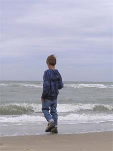 Henri am Meer