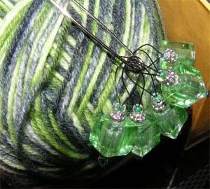 grüne Maschenmarkierer