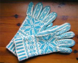 Norwegermusterhandschuhe