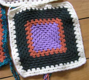 Granny Squares Irisines Stricksalon