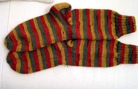 geringelte Socken