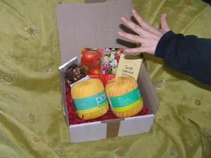 Päckchen mit vielen Geschenken