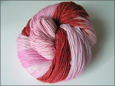 rosaroter Strang
